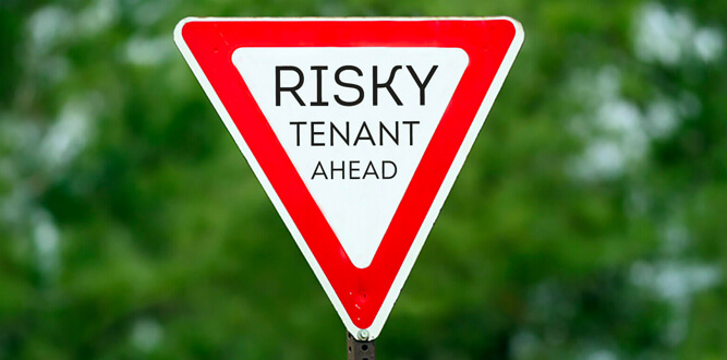 tenant screening warning signs